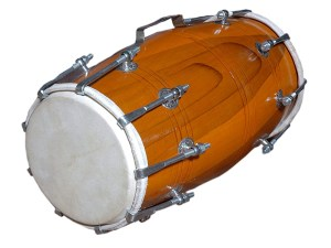 Dholak Online Buy, Handmade Wood Dholak Indian Folk Musical Instrument Drum Nuts and Bolts, Best Deal 2020