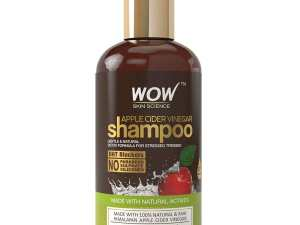 Buy The Best WOW Shampoo Apple Cider Vinegar No Parabens and Sulphate, 300mL