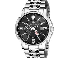Best Watch for Men: EDDY HAGER Time Teacher Black Dial Men's Watch for 2020