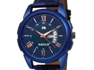 Leather Watch for Man: Buy Redux Analog Blue Dial Men's and Boy's Watch RWS0216S at Best Price