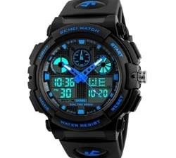 Digital Watch for Boys | SKMEI Analog | Digital Black Dial Watch at Best Price for 2020
