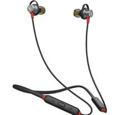 Buy Infinity (JBL) Glide 120, in Ear Wireless Earphones with Mic, twin Equalizer, 12mm Drivers, Comfortable Flex Neckband, Bluetooth 5.0, IPX5 Sweatproof (Black & Red) at Best Price