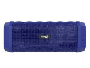 Buy Best Bluetooth Boat Speaker Stone 650 10W, 7 Hrs of Play time and AUX (Blue)-2021