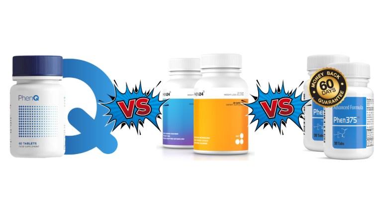 PhenQ vs Phen24 vs Phen375 Comparison Review by Shredfit NY