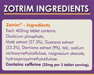 Zotrim Ingrediant