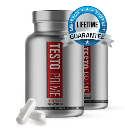 Testo Prime; Lifetime Money Back Guarantee