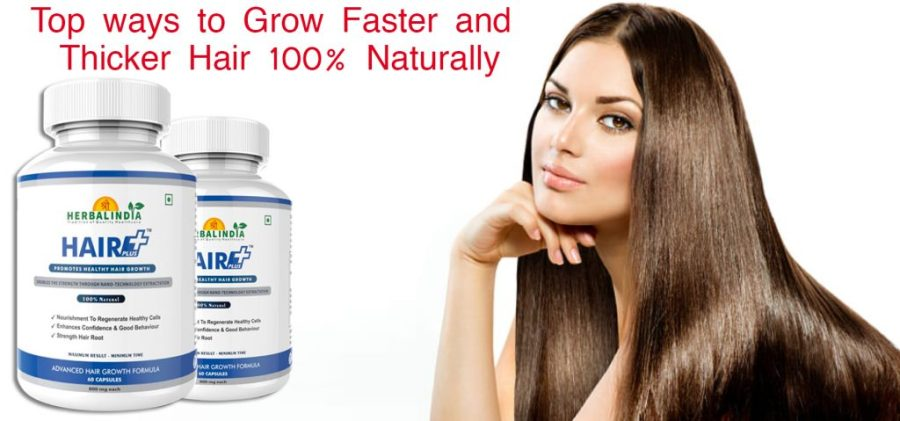 Thicker Hair 100% Naturally