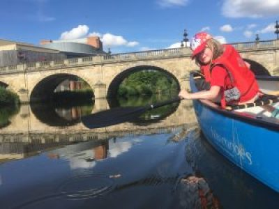 Shrewsbury Canoe Hire River Severn Hire a Canoe half day hire full day hire