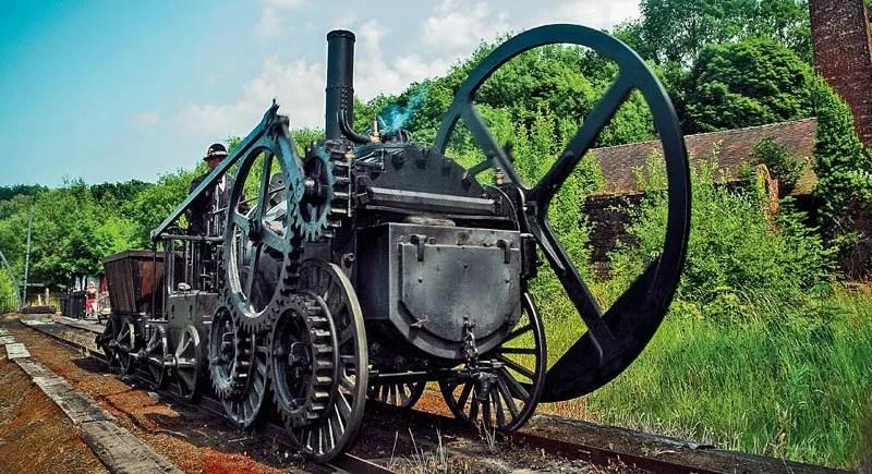 The Trevethick Locomotive