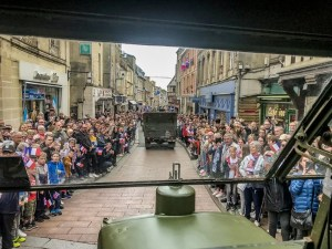 Bayeux liberation parade