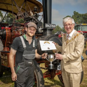 Best Steam Tractor - Will Olley, Exhibit: Onward