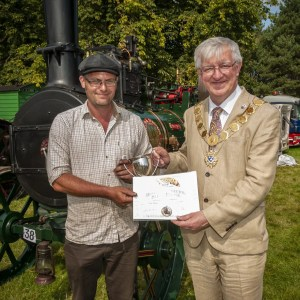 Best Agricultural Steam Engine - Irene Briggs, Exhibit: Maymagh
