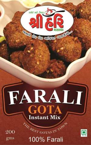 Ready To Cook FARALI Gota Instant Mix
