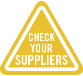 Check Your Supplier