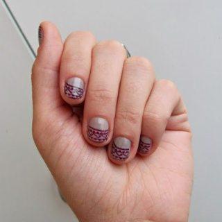 Aztec Patterned Manicure Tutorial