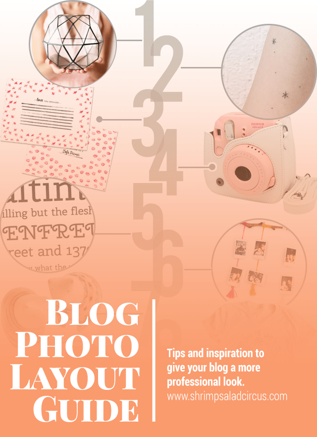 Blog Post Photo Layout Guide