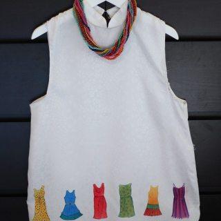 Watercolor Dresses Shirt Tutorial