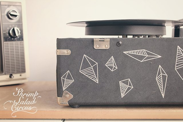 Geometric Vinyl Decals . How To-sday