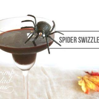 Halloween Spider Drink Stirrers Tutorial