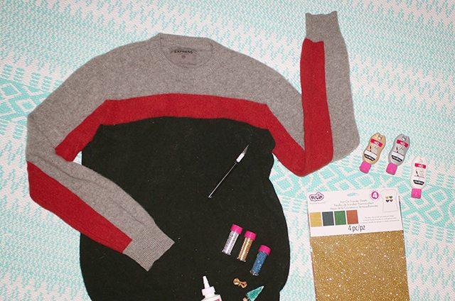Advent Calendar Christmas Sweater Supplies