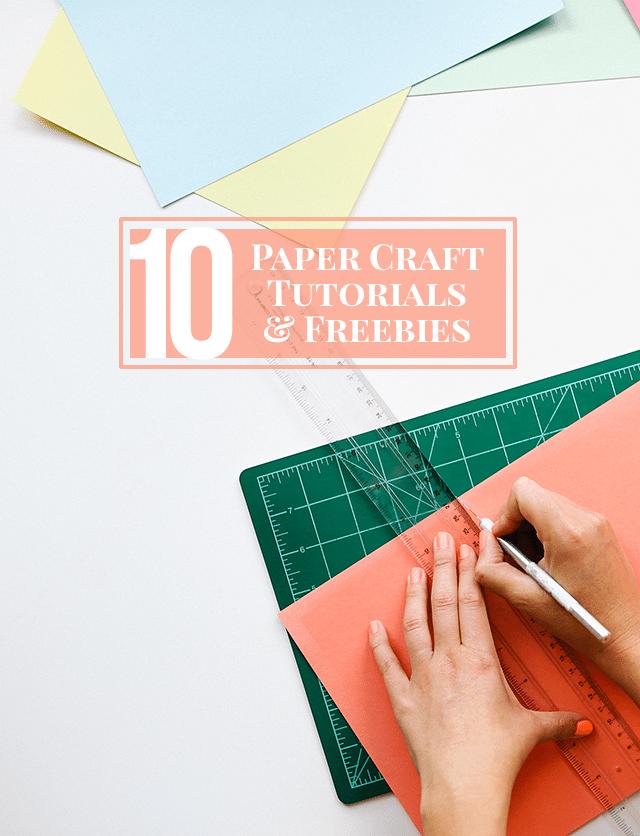 10 Paper Crafts to Make