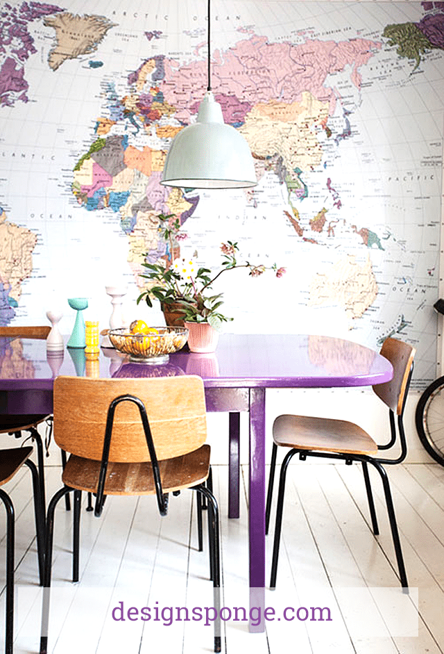 Ways To Decorate With Maps Globes