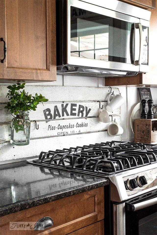 Popular Painted Shiplap Boards DIY Kitchen Backsplash Ideas Funky Junk Interiors