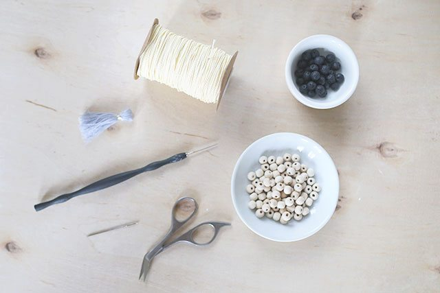 How-to-Tie-a-Mala-Wooden-Bead-Necklace---Supplies