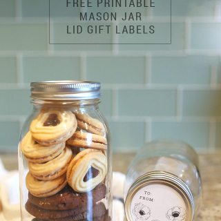 Free Printable Mason Jar Gift Tags + Mega Giveaway