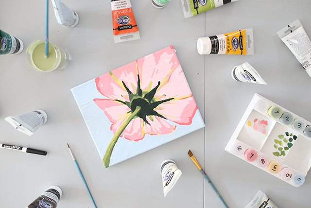 How to Turn a Photo into Paint by Numbers - Final Painting