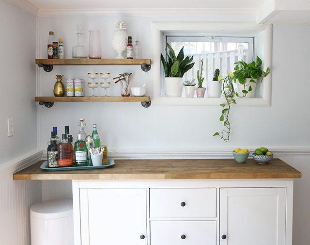 IKEA Hacks - DIY Bar Cabinet 1