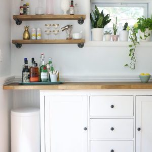 IKEA Hack - DIY Bar Cabinet 2