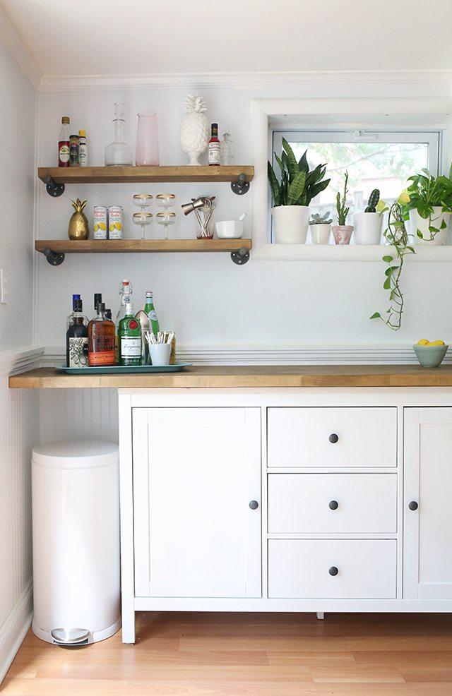 IKEA Hacks - DIY Bar Cabinet 2