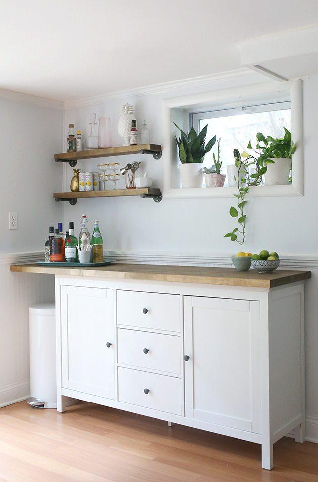 IKEA Hacks - DIY Bar Cabinet 3