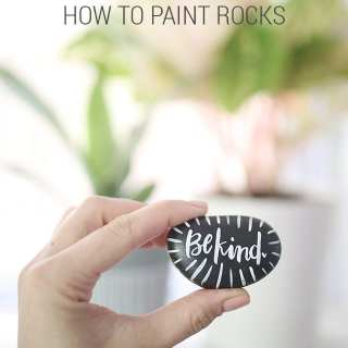 How to Paint Rocks – How To-sday