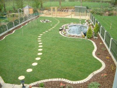 Large Gardens on Large Backyard Design id=20291