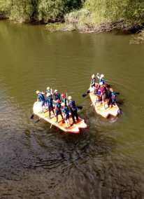 Mega SUP with Shropshire Raft Tours