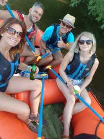 mini-raft hire couples