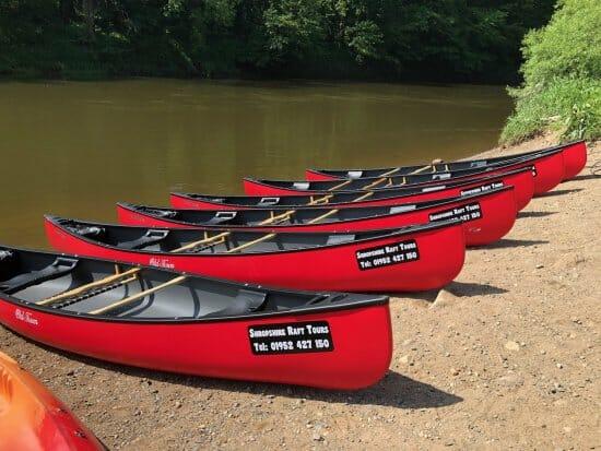 Canoe hire in Ironbridge