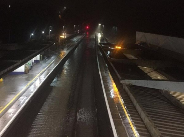 Heavy rain and gales bring flooding and disruption to ...