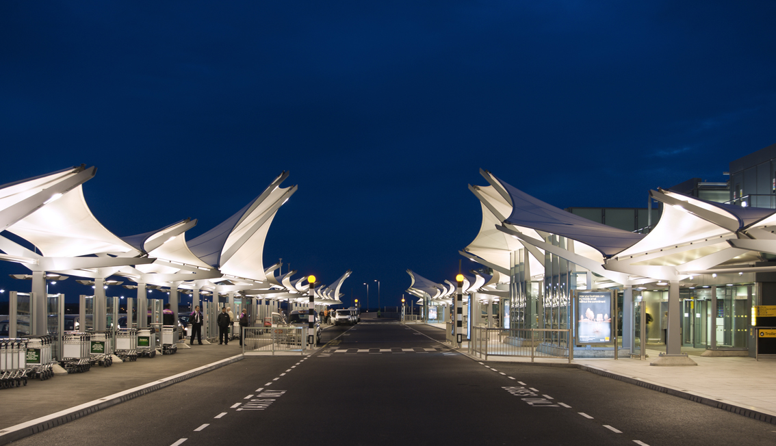 Heathrow Terminal 5 Canopies Sh Structures