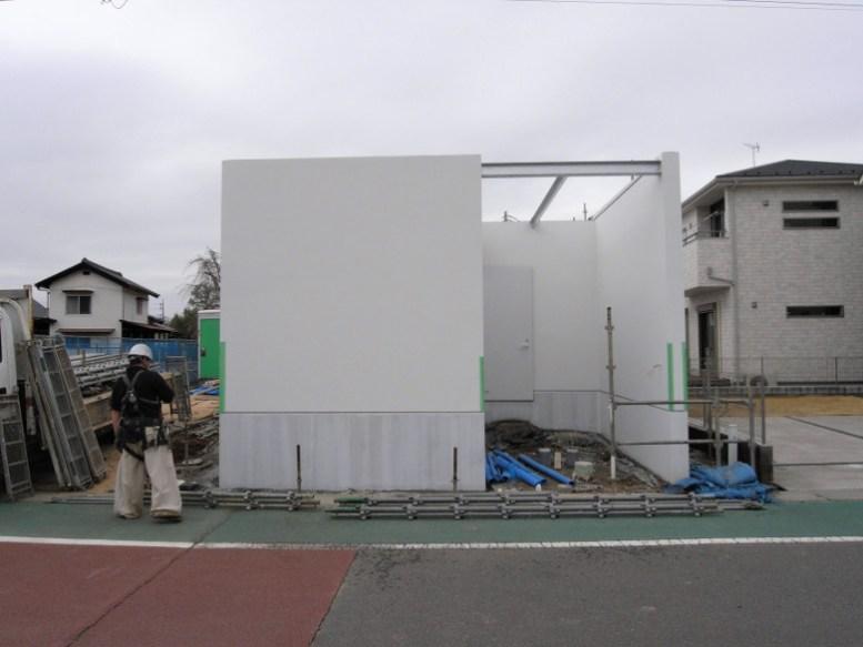 ゆめみ野の家の足場解体