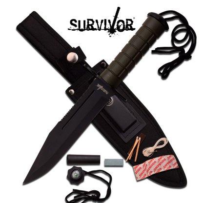 Survivor Black Knife