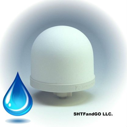 Ceramic Dome Silver Impregnated with Active Carbon
