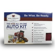 Wise Food Company - Wise Car Vehicle Emergency Survival Kit with Jumper Cables