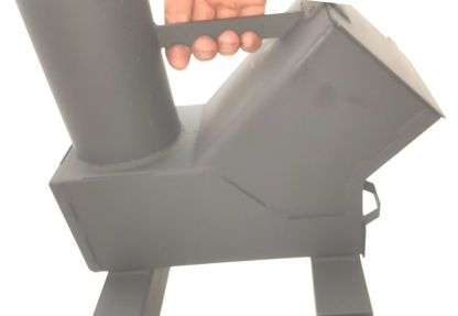 Bullet Proof Rocket Stoves 50 BMG Carry Handle