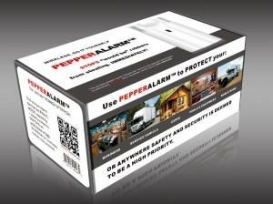Pepper Alarm System Key FOB