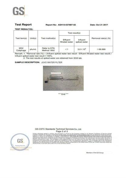 JUVO Pump Water Purifier