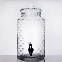Glass Collection and Dispensing Jar 1 Gallon