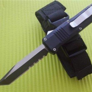 Chupacabra OTF Single Edge Serrated Tanto Knife